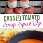 Canned Tomato Soup Spice Up