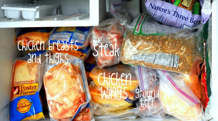 Tips and Tricks: Stocking Your Freezer