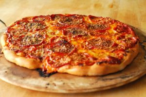 Pizza from A Duck's Oven. The ultimate recipe for perfect pizza crust and sauce.
