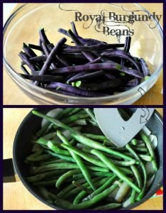 Royal Burgundy Beans from A Duck's Oven