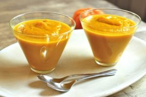 Butternut Squash and Apple Soup from A Duck's Oven. Filling, wholesome, and oh so comforting!