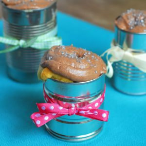Cake in a Can from A Duck's Oven. This variation is way more fun (and adorable) than a standard cake or even cupcakes!