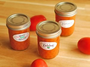 Homemade Ketchup from A Duck's Oven. It's so much easier to make than you'd think and it makes a great DIY gift for friends and family!
