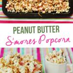 Peanut Butter Smores Popcorn