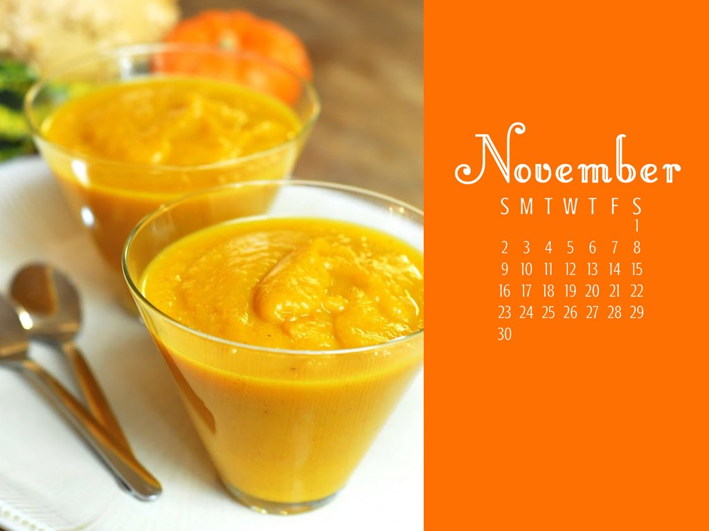 A photo and November 2014 calendar for your computer's desktop! From A Duck's Oven.
