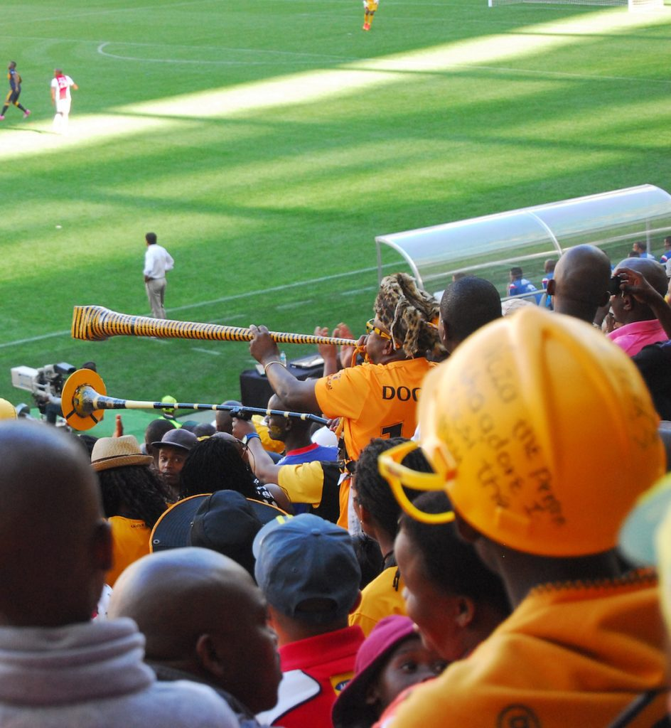 A Duck's Oven: Soccer at Cape Town Stadium. A recap of the Ajax vs. Kaiser Chiefs match in Cape Town, South Africa!