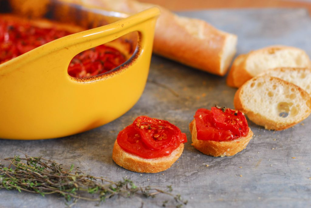 Roasted Scalloped Tomatoes from A Duck's Oven