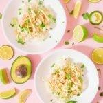 Sous Vide Cilantro Lime Shrimp from A Duck's Oven